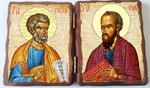 Петр и Павел. Складень под старину 13Х17