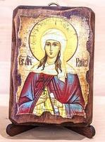 Раиса Св. Мч., икона под старину, сургуч (8 Х 10)