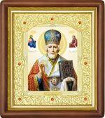 Николай Чудотворец, средняя аналойная икона (Д-20пс-27)