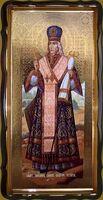 Иоасаф, епископ Белгородский (рост), в фигурном киоте, с багетом. Большая Храмовая икона 120 х 230 см.