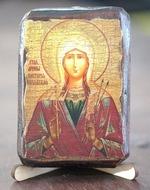 Виктория, Св.Муч., икона под старину, сургуч (8 Х 10)