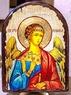 Ангел Хранитель, икона под старину, сургуч, АРКА (17 Х 24)