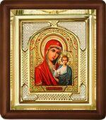 Казанская Б.М., малая аналойная икона, риза (Д-3с-11)