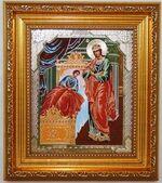 Целительница  Б.М. Икона в багетной рамке 14 Х 16