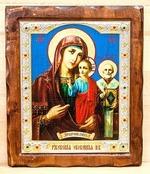 Ржевская (Оковецкая) Б.М., Икона Византикос, полуоклад, 12Х14