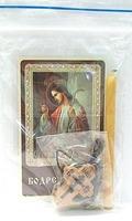 Бодрствуйте. Набор для домашней молитвы (Zip-Lock). Лик, молитва, свечка, ладан, крестик