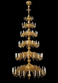 Паникадило К-У-05-76(№ 33), 5-ярусное (76 свечей)