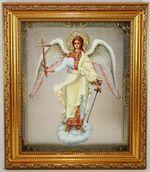Ангел Хранитель (рост), Икона в багетной рамке 19 Х 22
