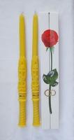 Свечи венчальные большие (42 см), восковые (в праздничной упаковке)