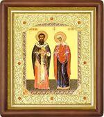 Киприан и Устинья, средняя аналойная икона (Д-20пс-35)