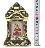 Семистрельная Б.М., керамика, икона средняя, цвет золото (СА).