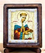 Елена Св.Рн.Ап.Цр., Икона Византикос, полуоклад, 8Х6