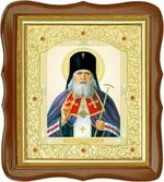 Лука Крымский, средняя аналойная икона, фигурный киот (Д-20фс-37)