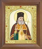 Лука Крымский. Икона в деревянной рамке с окладом (Д-25псо-37)