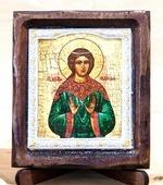 Надежда Св.Мч., Икона Византикос, полуоклад, 8Х6
