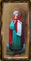 Даниил, Св.Пророк (рост), в фигурном киоте, с багетом. Большая Храмовая икона 120 х 230 см.
