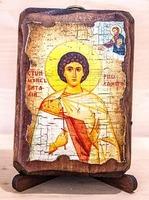 Виталий, Св.Муч., икона под старину, сургуч (8 Х 10)
