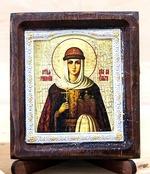 Ольга Св.Княгиня, Икона Византикос, полуоклад, 8Х6