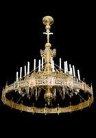 Паникадило К-У-01-36(№ 42), 1-ярусное (36 свечей), с хоросом