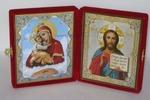 Складень мал.карт.(Почаевская (2), Спаситель (14)