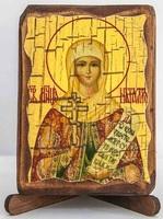 Наталия, Св.Мч., икона под старину, сургуч (8 Х 10)