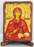 Мария Магдалина, икона под старину, сургуч (8 Х 10)