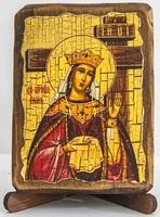 Елена, Св.Муч., икона под старину, сургуч (8 Х 10)