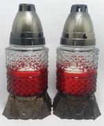 Неугасимая лампада 18-22 красная