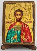Богдан (Феодот), икона под старину, сургуч (8 Х 10)