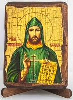Кирилл, Св.Р.Ап., икона под старину, сургуч (8 Х 10)