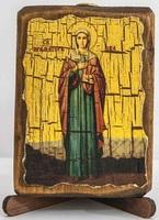 Ева (рост), икона под старину, сургуч (8 Х 10)