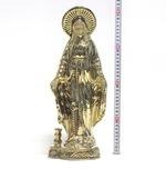 """Статуэтка большая """"Богородица"""" цвет Булат."""