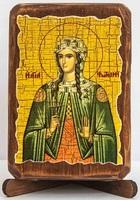 Фотиния (Светлана), Св. муч., икона под старину, сургуч (8 Х 10)