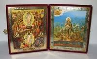 Складень бол.карт.(Воскресение Христово (53), Иоанн Креститель (2)