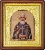 Сергий Радонежский, средняя аналойная икона (Д-17пс-56)