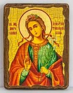 Мирослава, Св.Муч, икона под старину, сургуч (13 Х 17)