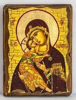 Владимирская Б.М., икона под старину, сургуч (13 Х 17)