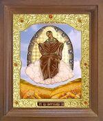 Спорительница хлебов Б.М. Икона в деревянной рамке с окладом (Д-26псо-57)