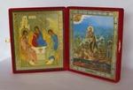 Складень бол.карт.(Троица (Рублев), Иоанн Креститель (2)