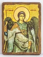 Архистратиг Михаил, икона под старину, сургуч (17 Х 23)