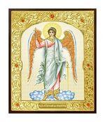 Ангел Хранитель. Икона в окладе малая (Д-22-06)