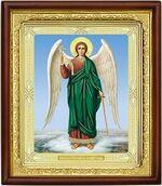 Ангел Хранитель, икона в деревянной рамке (Д-18пс-06)