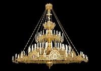 Паникадило К-У-02-117(№ 60), 2х-ярусное (117 свечей), с хоросом на 48 свечей