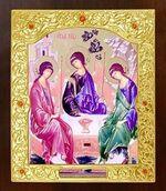 Троица. Икона в окладе средняя (Д-21-62)
