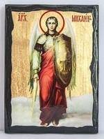 Арх. Михаил (рост), икона синайская, 17 Х 23