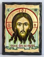 Спас Нерукотворный, икона синайская, 17 Х 23