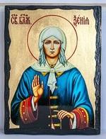 Ксения Петербургская, икона синайская, 21x28