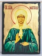 Матрона Московская, икона синайская, 21x28
