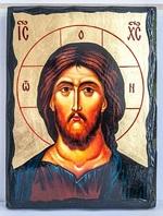 Спаситель, икона синайская, 21x28