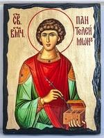 Пантелеймон, икона синайская, 21x28